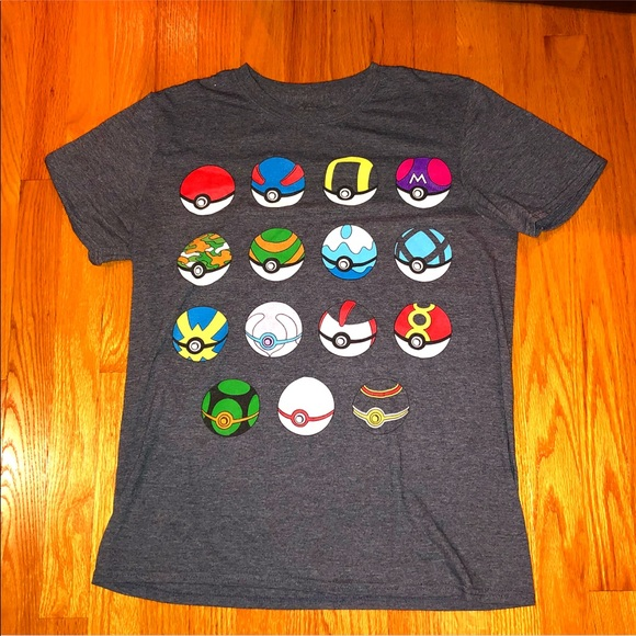 c2699f79 Pokemon Shirts | Pokmon Pokeball Gallery Tee | Poshmark